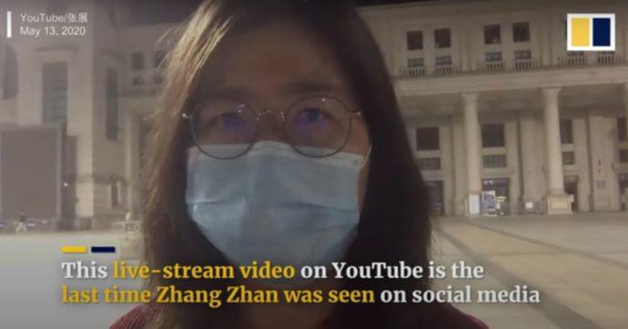 29122020 Zhang Zhan condannata